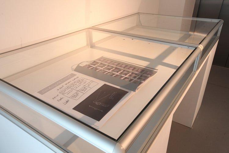 Jenny Brockmann: 'Artist_book_horizon', Collage on Paperboard, 2007, photo: Marcin Kucewics,©the artist
