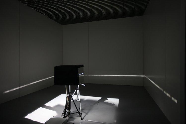 Jenny Brockmann: 'Horizon', Aluminum, Light, Controller, 2016, photo: Marcin Kucewics,©the artist