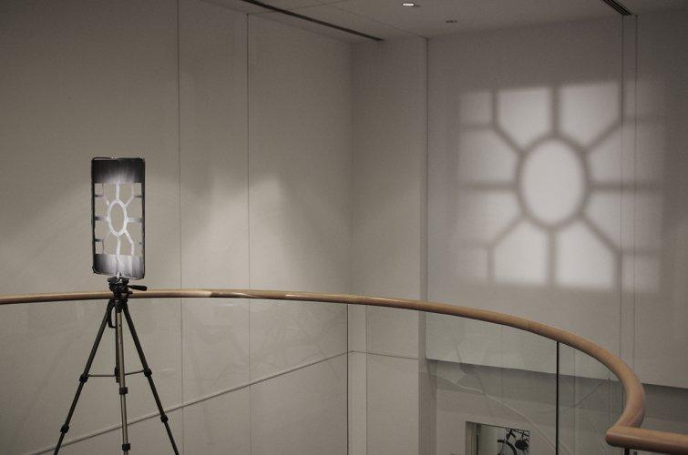 Jenny Brockmann: 'Window', Light, Lightning Foil, 2014, photo: Jenny Brockmann, ©the artist
