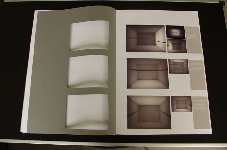 Jenny Brockmann: 'Artist_book_horizon', Collage on Paperboard, 2007, photo: Jenny Brockmann,©the artist