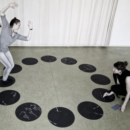 Jenny Brockmann Collective Dialogue Gertrud Grunow Performance 2018 photo Sebastian Mayer copyright the artist