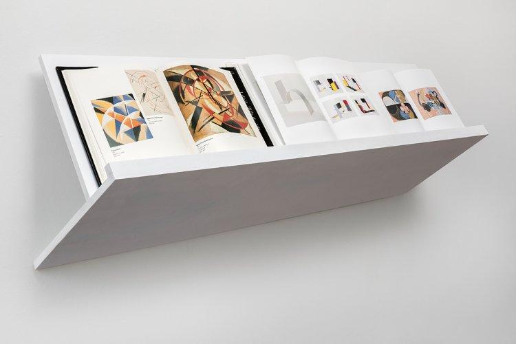 Jenny Brockmann Klint-Popowa-Kobro Wood Books 2018 photo Bernd Hiepe copyright the artist